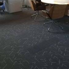 carpets in an office